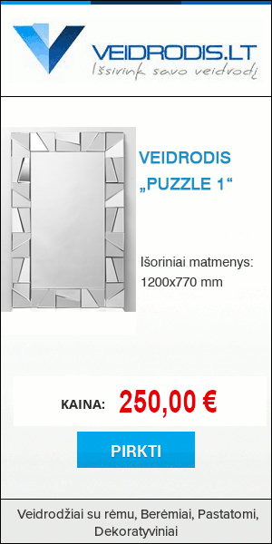 "Veidrodis ""Puzzle 1"""
